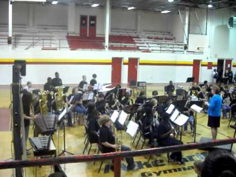 Collins-Riverside Middle School Band May 10, 2011
