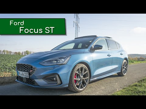 Ford Focus ST 2019 / 2.3 EcoBoost / 280PS / Performance-Paket / Review / Meinung  Kickdown