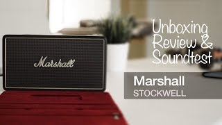 Marshall Stockwell Portable Bluetooth Speaker - Soundtest and Review