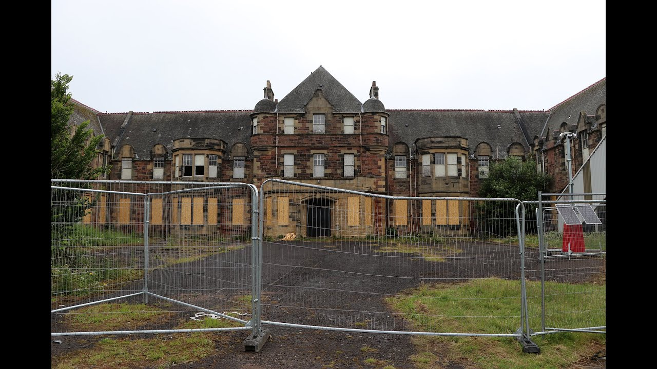 Bangour village hospital - mental asylum - Scotland
