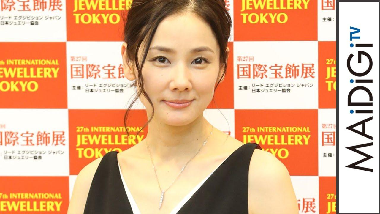 吉田羊、吉田鋼太郎の結婚にびっくり「『口説きたい』と言われていたのに\u2026」 「第27回日本ジュエリーベストドレッサー賞」会見 Yo Yoshida  Press conference ,