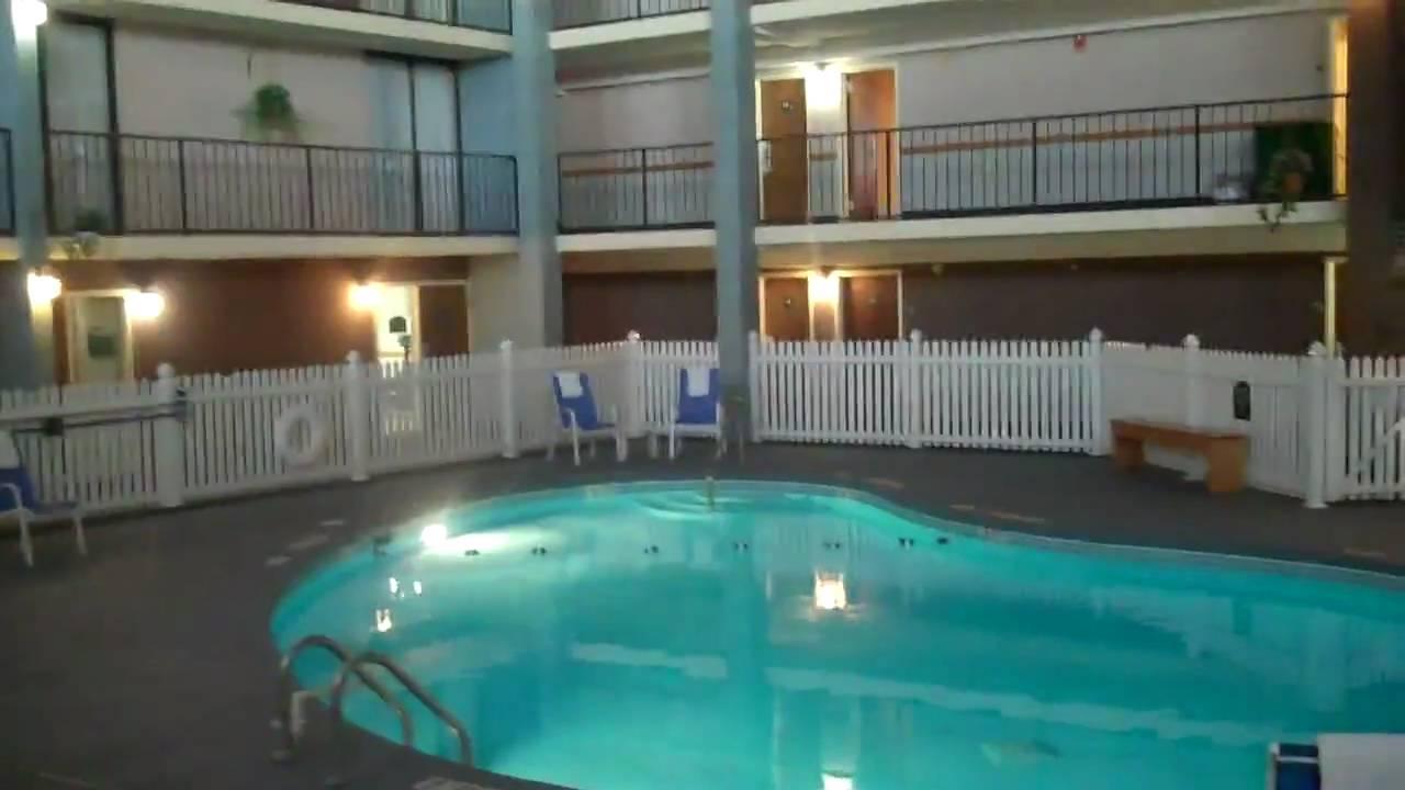 Indoor Pool The Holiday Inn Auburn Finger Lakes Youtube