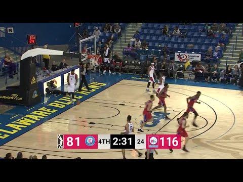 JJ O'Brien (24 points) Highlights vs. Delaware 87ers