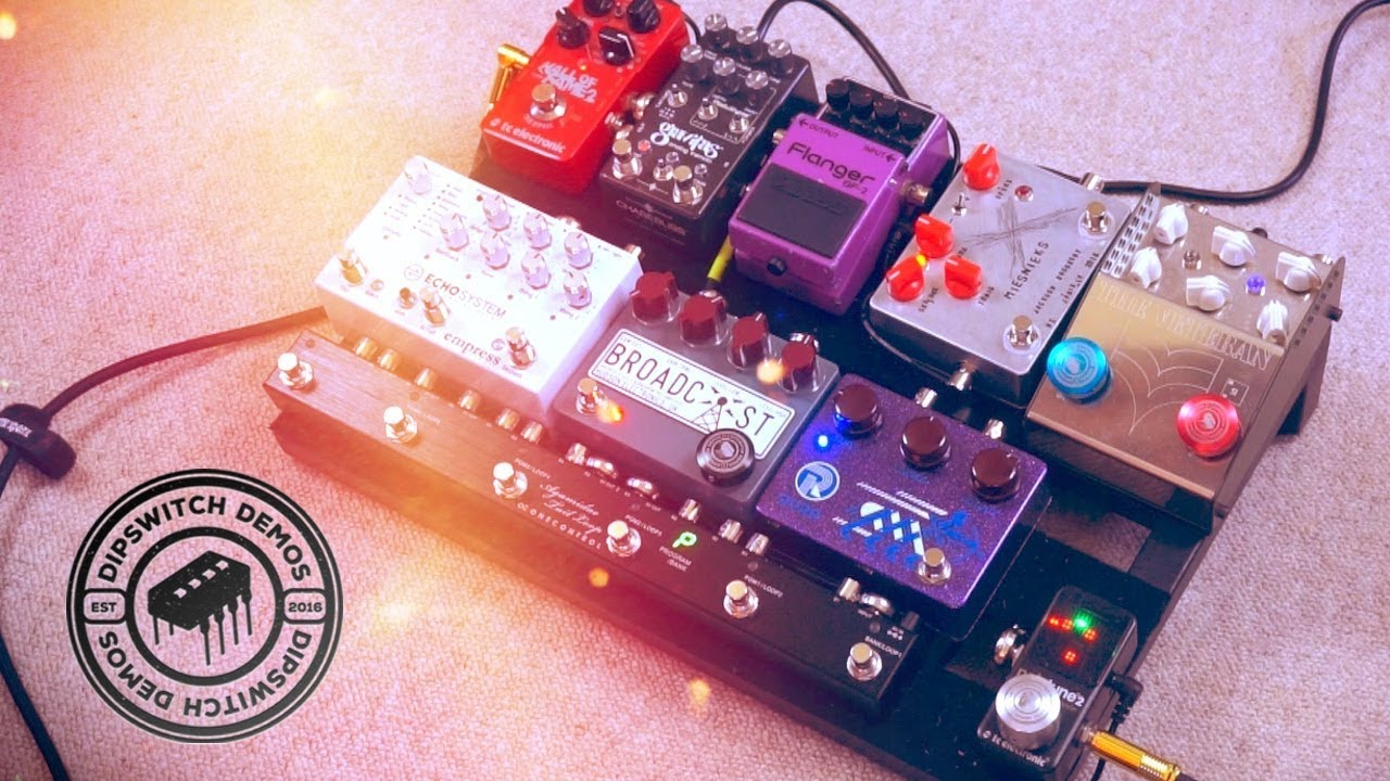PEDALBOARD UPDATE January 2019
