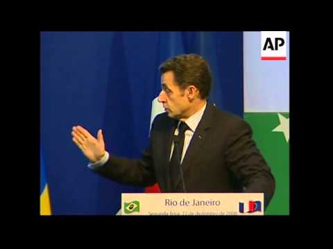 Sarkozy and Barroso meet Lula for second Brazil-EU summit
