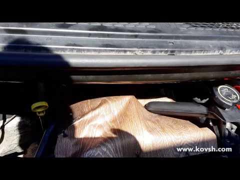 Защита форсунок на Ford Transit 2.4 TDCi от попадания влаги