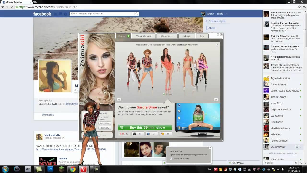 Virtual girl hd full show — pic 1