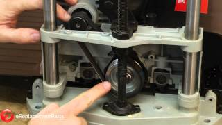 How To Replace The Drive Belt In A Delta Tp305 Planer--a Quick Fix