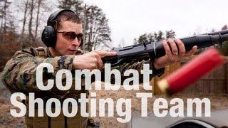 Marine Demonstrates Three-Gun Scenario