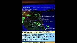The weather channel Jacksonville Florida