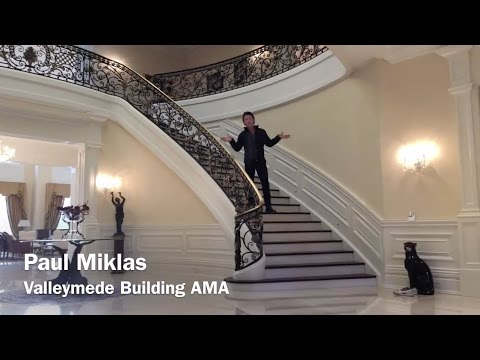 Designing and Building a Spectacular Mansion Entrance