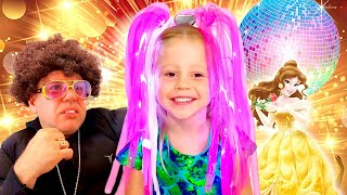 Nastya will in eine Disco gehen, neue Serie für Kinder