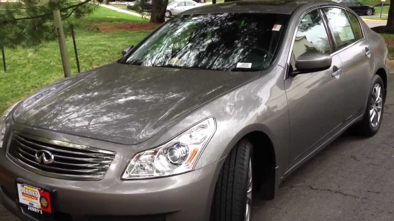 2009 infiniti g37x review walk around start up rev test drive youtube