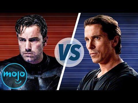 Ben Affleck VS Christian Bale As Batman