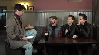 Jordan Lee Hangs Out With The Script At Their Secret Album Launch Party | Hits Radio