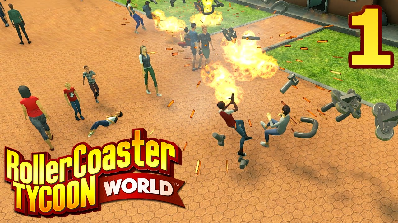 RollerCoaster Tycoon World - Part 1 - THIS IS NOT A REVIEW