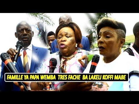 Ba Ndeko Ya  Wemba Ba Sambwisi Koffi Na Wazekwa Affaire Pierre Tombale Famille Incapable Yako Sala