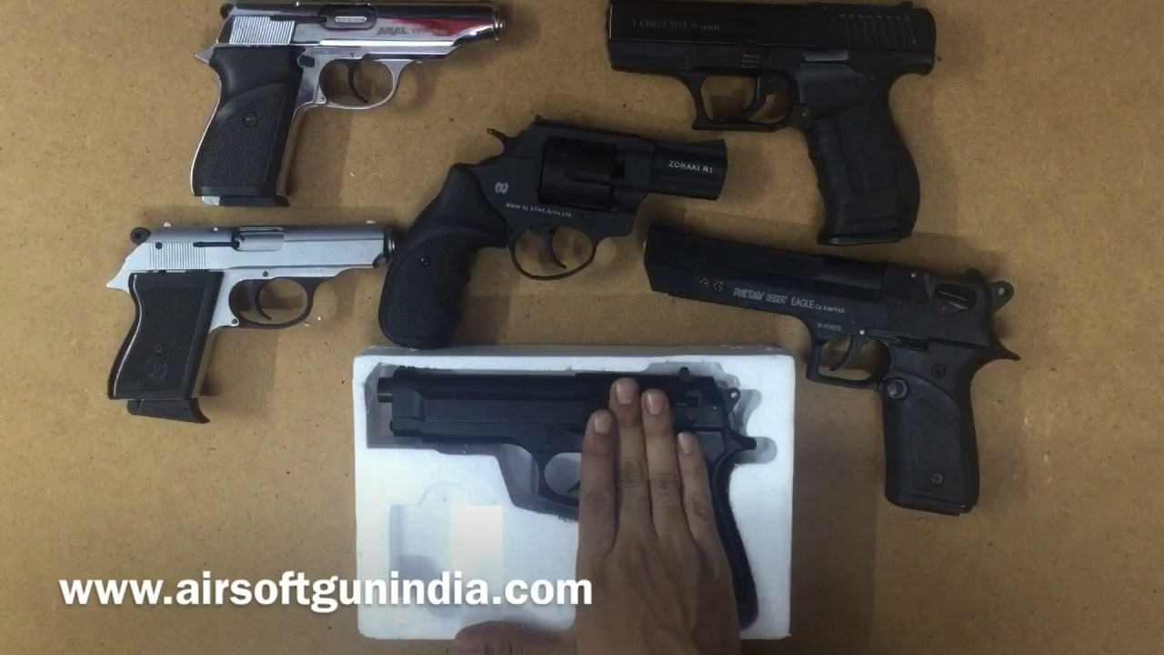 Free give away of beretta m9 by airsoft gun india