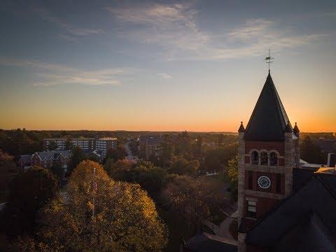 UNH Fall Campus Tour Aerials 2017