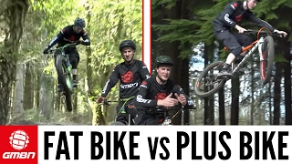 Fat Bike Vs Plus Bike