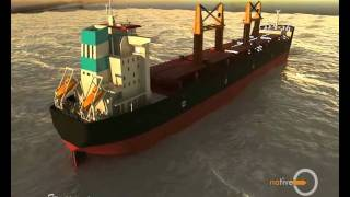 cargo ship 3D model-sample
