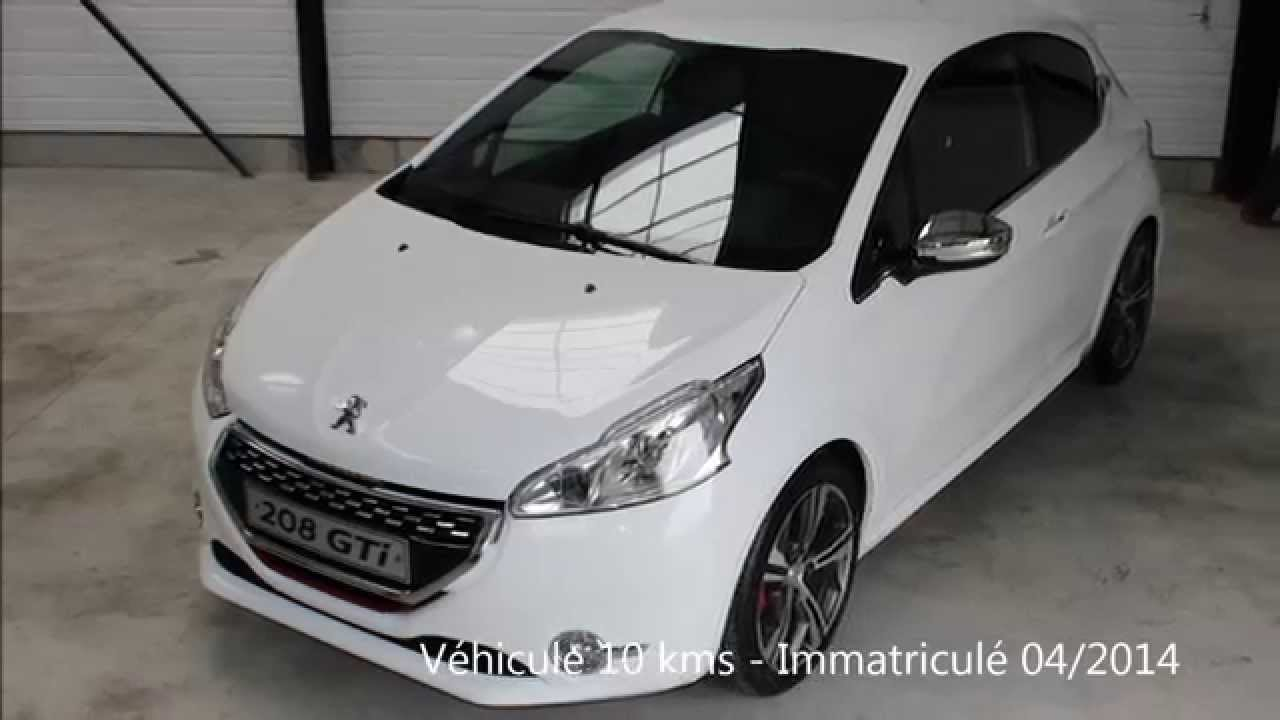 annonce de peugeot 208 gti blanche par auto ici mandataire auto youtube. Black Bedroom Furniture Sets. Home Design Ideas