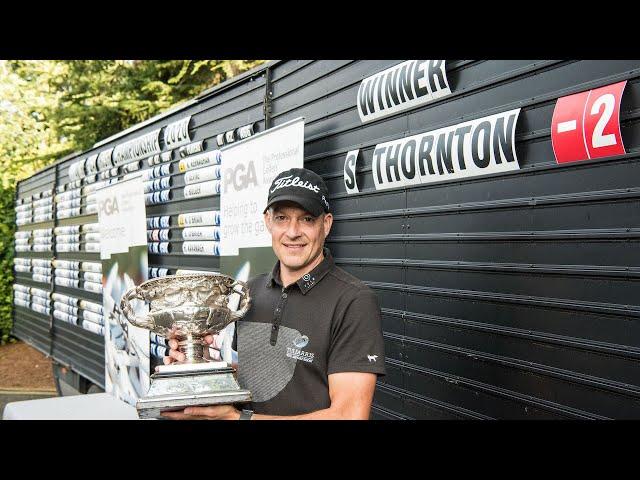 Simon Thornton - 2020 Irish PGA Champion