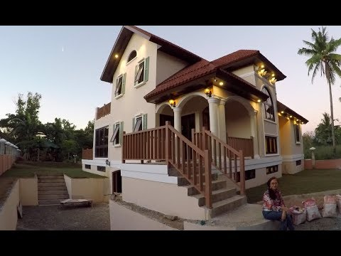 VILLA FELIZ - EPISODE 311: HOW TO MAKE QUICK SAND (House Building in the Philippines)