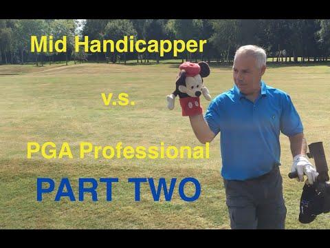 Mid Handicapper v.s. Pro Challenge | Redlibbets Course Vlog PART 2