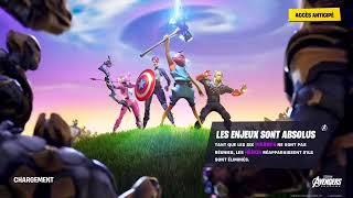 I DECOUVRE THE NEW UPDATE MODE OF GAME AVENGERS FORTNITE [FR PS4 #T]