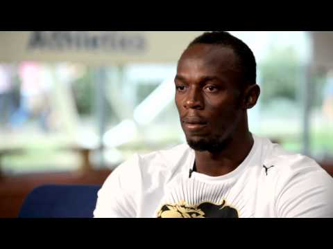 Usain Bolt gives extended interview to Brunel University athletes ahead of London 2012 Olympics