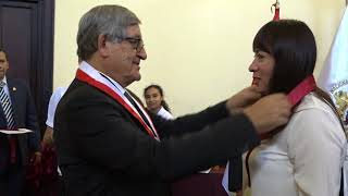 Tema:Ceremonia de Ingreso a la Carrera Docente Universitaria