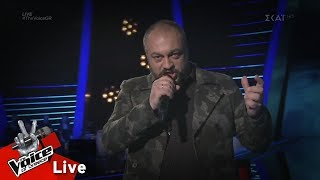 Baixar Παναγιώτης Παπαγεωργίου - The Sound of Silence | 2o Live | The Voice of Greece