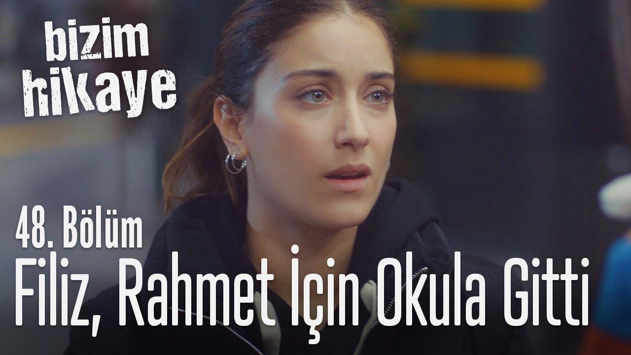 Filiz, Rahmet için okula gitti - Bizim Hikaye 48. Bölüm