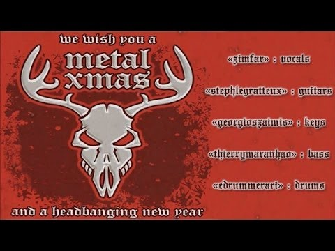 We Wish You A Metal Xmas and a Headbanging New Year! - Vocals by David Lyon, Full Band Online Collab