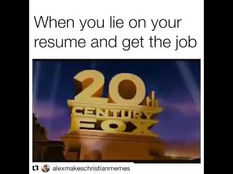 When You Lie On Your Resume Funny 20th Century Youtube