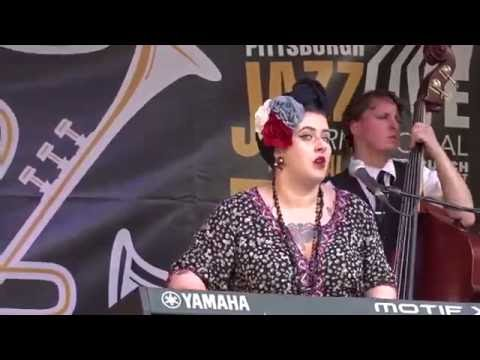 Davina and the Vagabonds - Ain't That a Shame  - Pittsburgh Jazz Live 06-25-16 mp3