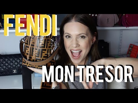 WHAT'S IN MY FENDI MON TRESOR BUCKET BAG | MELSOLDERA