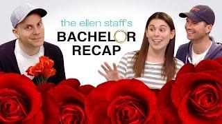 The Ellen Staff's 'Bachelor' Recap: Bye Bye Glitter