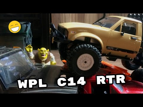 WPL C14 RTR UNBOXING AND TEST DRIVE (RC Car 4WD 1/16 2.4G)