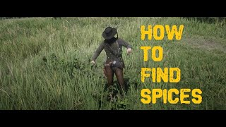 How to find spices & other plants in red dead redemption 2 Video