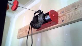 harbor freight chicago electric 440lbs hoist part 2