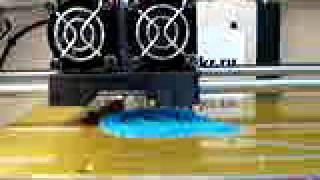 Прототипирование, печать изделий на 3d принтере(Печать брелка для ключей @ на 3D принтере из ABS пластика. Печать изделий на 3D принтере http://3dprint-kr.ru., 2013-07-30T11:48:28.000Z)