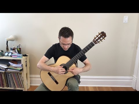 Lesson: Right Hand Fingering Part 1 of 4 for Classical Guitar