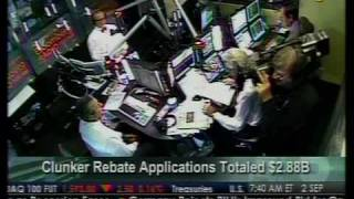 Clunker Rebate Applications Totaled $2.88B - Bloomberg