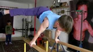 for the huge request of new video ,Giuliano present 2014 plache on parallel bars