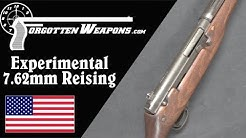 Experimental Reising 7.62mm Full-Auto Battle Rifle