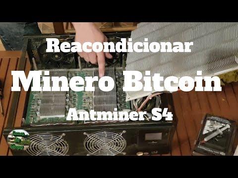 Como Reacondicionar / Desmontar Minero BITCOIN Antminer S4
