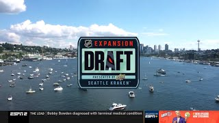 2021 NHL Expansion Draft Presented by Upper Deck (ESPN2) Full Broadcast July 21, 2021