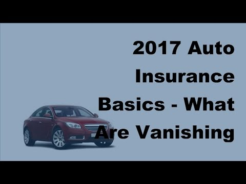 2017 Auto Insurance Basics | What Are Vanishing Deductibles